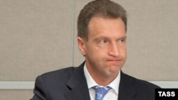 Першы віцэ-прэм'ер Расеі Ігар Шувалаў