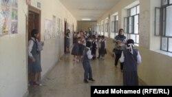 في احدى مدارس السليمانية