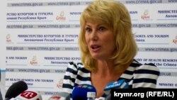 Олена Юрченко, міністр курортів і туризму Криму (архівне фото)