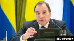 Швеция премьер-министрі Стефан Лоффен.