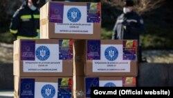 Ajutorul umanitar trimis de România pe 19 februarie 2021.