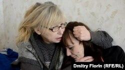 Ирина Калмыкова со своей дочерью