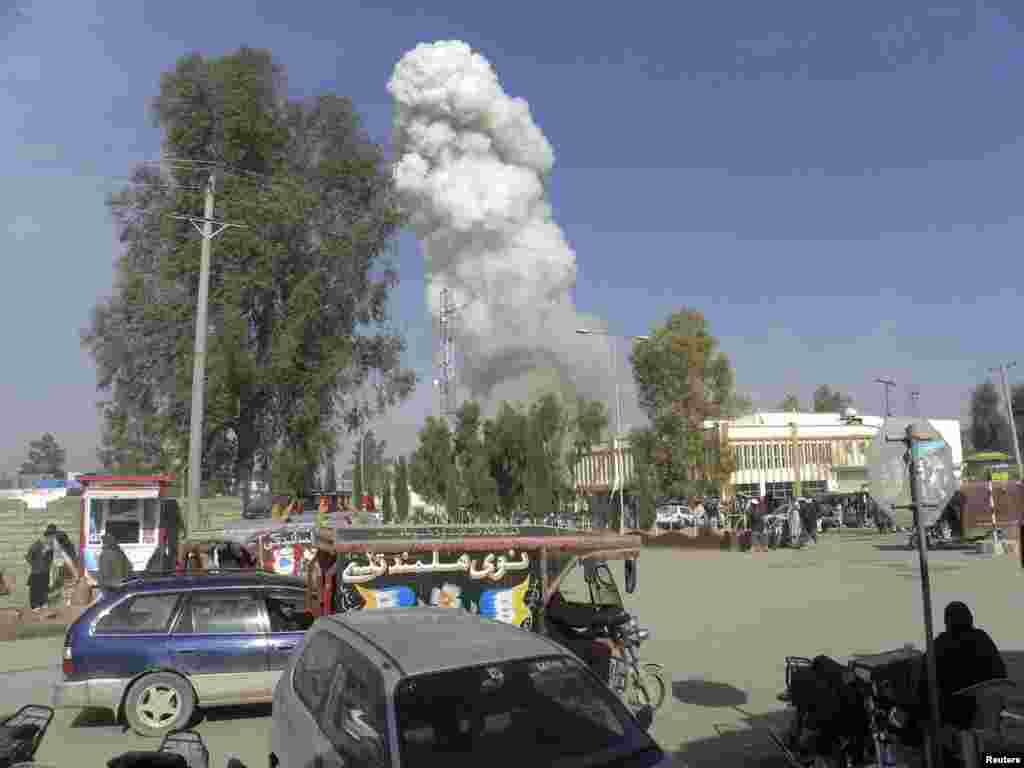 Теракт в провинции Гильменд. 26 января 2012.