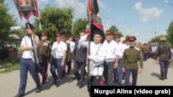 Участники крестного хода. Петропавловск, 12 июля 2017 года.