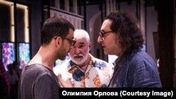 """Борис Юхананов в процессе работы над """"Сверлийцами"""". 2015 год"""