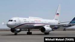 Ил-96 самолёт специального лётного отряда Россия