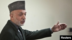 President Hamid Karzai has claimed that UN and EU officials were behind the fraud that marred last August's elections.