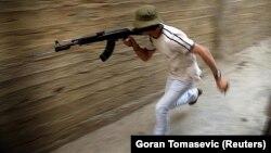 Боевик группировки ХАМАС в секторе Газа