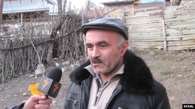 Elxan Azizov's father, Bayali, says he believed his son was forced to shoot the officers, possibly out of self-defense.