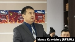 Kazakh rights activist Serikzhan Bilash (file photo)