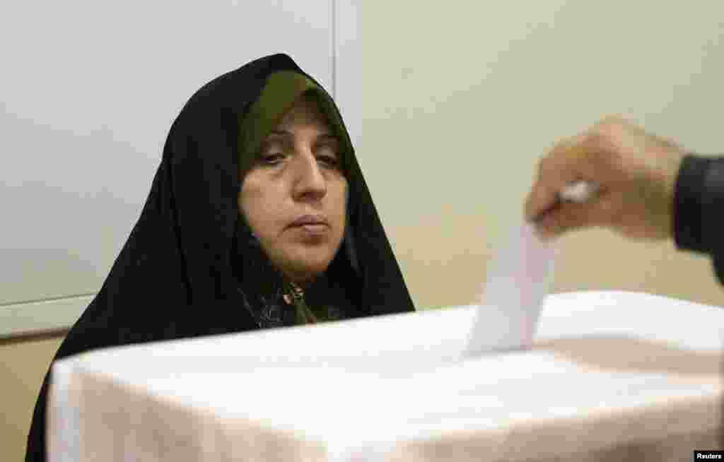 На выборах