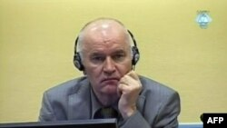 Ратко Младич в здании суда. Гаага, 3 июня 2011 года.