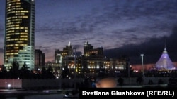 Түнгі Астана. 15 қараша 2011 жыл.