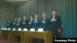 Члены «Народного парламента».