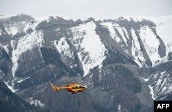 Поисковая операция в Альпах. 24 марта
