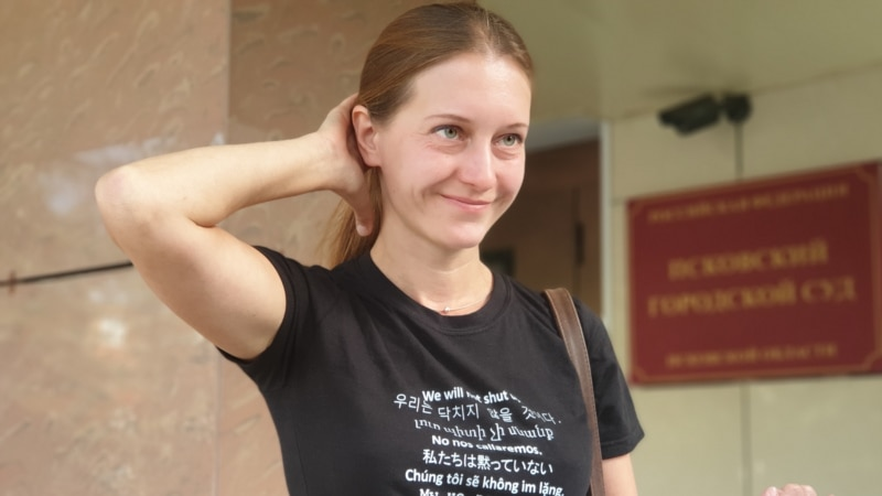 Russian Journalist Charged With Extremism Laments State's 'Black PR' Campaign Against Her