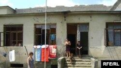 Refugiați din Abhazia la Zugdidi