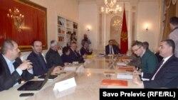 Diskusije o prevazilaženju krize u zemlji, Podgorica, 4. decembar 2015.