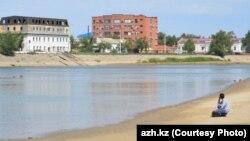 На реке Урал. Фото с сайта газеты «Ак Жайык».