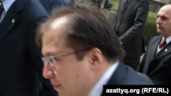 Kazakh Foreign Ministry spokesman Iliyas Omarov