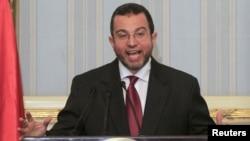 اول مؤتمر صحفي لرئيس الوزراء المصري