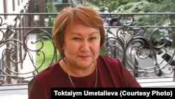 Toktaiym Umetalieva is the only woman in Kyrgyzstan to ever run for president.
