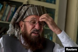 Sami-ul Haq, a cleric and head of Darul Uloom Haqqania (file photo)