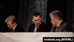 Віталь Рымашэўскі, Зьміцер Садоўскі, Георгі Дзьмітрук