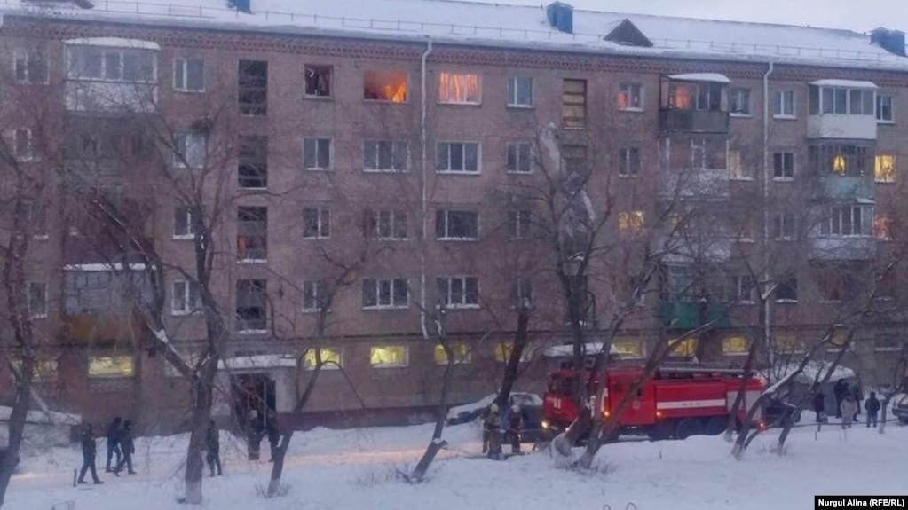 Взрыв газа в Петропавловске: стены четырех квартир восстановит акимат города