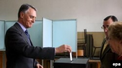 Portuguese President Anibal Cavaco Silva is expected to be reelected.