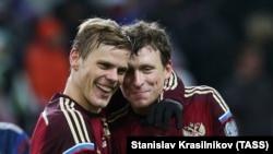 Александр Кокорин и Павел Мамаев (архивное фото)