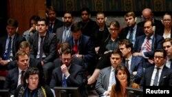 Hejli optužila Rusiju da više radi na zaštiti predsednika Bašara el Asada nego na jedinstvu u Savetu bezbednosti UN