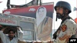 روز شنبه، آخرين فرصت برای کانديداهای انتخابات پارلمان پاکستان برای برگزاری گردهمايی و تبليغات انتخاباتی پيش از آغاز رای گيری در روز دوشنبه است. ( عکس: AFP)