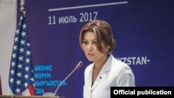 Зарина Чекирбаева.