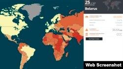 Беларусь у глябальным індэксе рабства