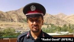 Саид Абдулқадири Сайёд, раиси дастгоҳи фармондеҳии амнияти Бадахшони Афғонистон