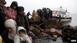 Migrantë në Greqi, foto nga arkivi