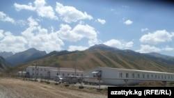 Кыргызстан - Нарын. Строительство ВНК ГЭС, 11 августа 2014 г.