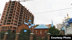 Строительство жилого дома в Уфе. Фото: Яндекс.Панорама