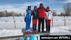 Հայ մարզիկները՝ Ձմեռային օլիմպիադային նախապատրաստվելիս, արխիվ