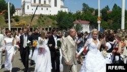 Парад нявест у Віцебску