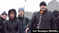 """""""День гнева"""" в Москве, февраль 2011 года"""