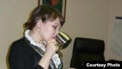 Алматылық Сәуле Жұмағалиева.