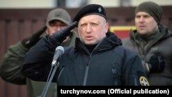 Глава СНБОУ Александр Турчинов