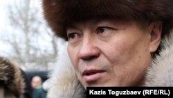 Парламент мәжілісінің депутаты Бақытбек Смағұл. Алматы, 3 қаңтар, 2013 жыл.