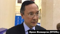Қайрат Әбдірахманов, Қазақстан сыртқы істер министрі. Астана, 16 қараша 2017 жыл.