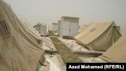 جانب من مخيم عربت قرب السليمانية