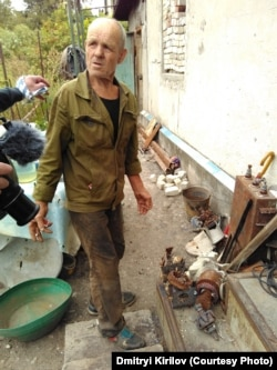 Житель Водяного Валерий Иващенко остался без дома
