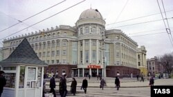 Russia -- Saratov State University, March, 2001