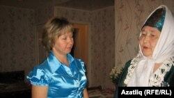 Әлфия Касимова һәм Сәминә апа Гарифуллина